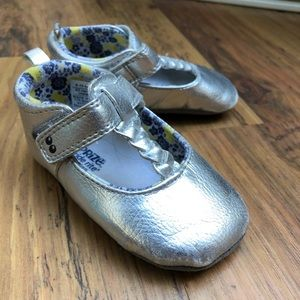 Silver Stride rite baby shoes